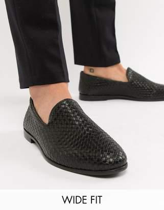 KG by Kurt Geiger KG Kurt Geiger wide fit woven loafers
