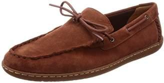 Clarks Men's Saltash Edge Loafers, Red (Rust Suede-)