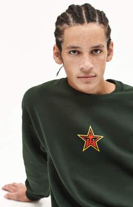 Obey Star Face Crew Neck Sweatshirt