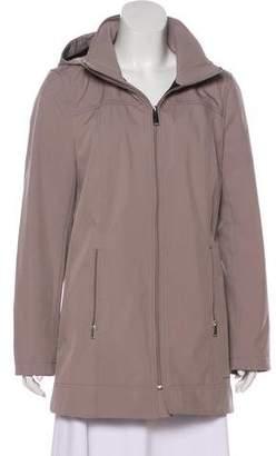 Andrew Marc Water Repellent Tonal Jacket