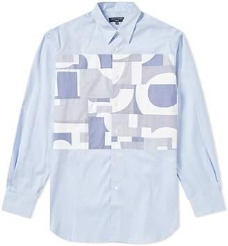 Comme des Garcons Homme Homme CDG Mix Panel Shirt