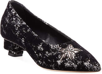 Stelle Sanayi313 Sequined Star Pumps