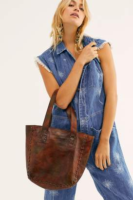Bed Stu Stevie Distressed Leather Tote
