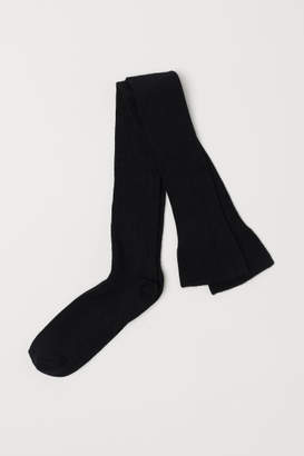 H&M Thigh-high Over-knee Socks - Black