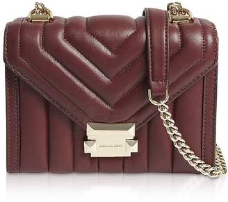 ed10024fb08c Michael Kors Whitney Small Quilted Leather Convertible Shoulder Bag