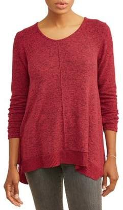 Thyme + Honey Women's Long Sleeve Extra Soft Tunic Top
