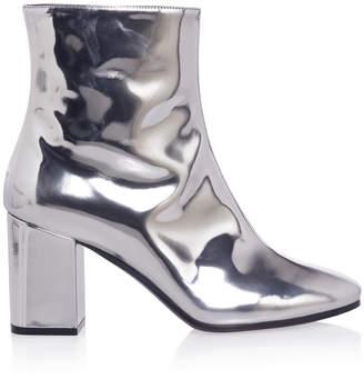 Balenciaga Metallic Leather Boots
