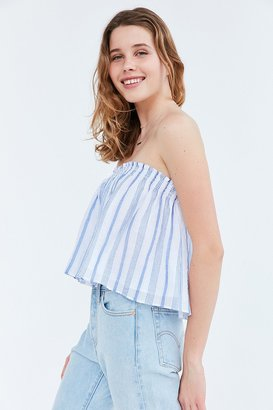 Kimchi Blue Billie Smocked Strapless Top $39 thestylecure.com