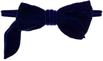 oversized bow belt