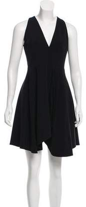 Halston A-Line Sleeveless Dress