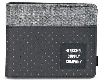 Herschel Men's Roy Bifold RFID Blocking Card Wallet Raven