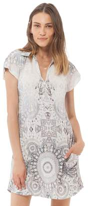 Hale Bob Irma Pleated Jersey Dress