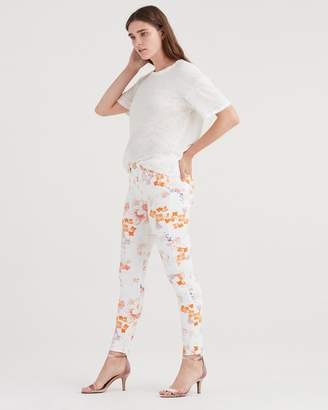 7 For All Mankind Ankle Skinny in Loft Garden