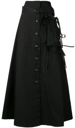 MM6 MAISON MARGIELA high-waisted flared skirt