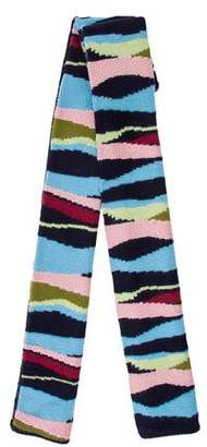 Paul & Joe Wool Striped Scarf