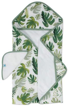 Little Unicorn Tropical Leaf Cotton Hooded Towel Wash Cloth Set