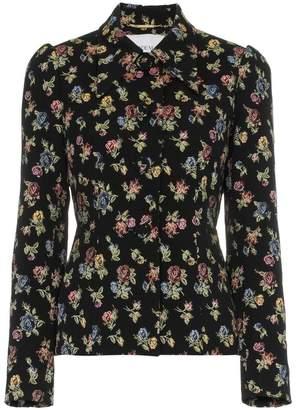 Erdem floral jacquard blazer