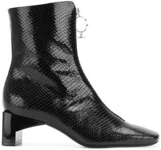 Alyx snakeskin boots
