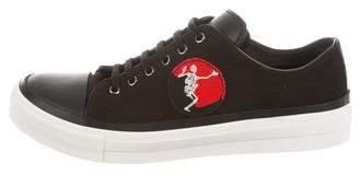 Alexander McQueen Logo Cap-Toe Sneakers