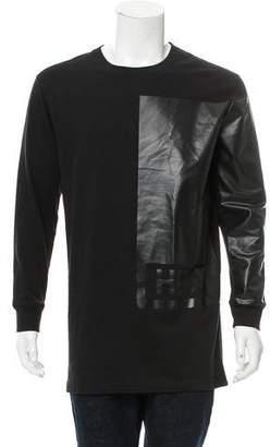Hood by Air Long Sleeve Logo T-Shirt