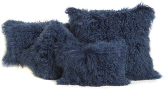 Belle Epoque Mongolian Decorative Pillow