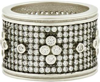Freida Rothman Clover Wide Band Ring