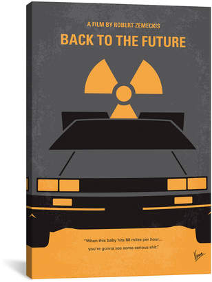 Icanvasart Back To The Future Minimal Movie Poster By Chungkong