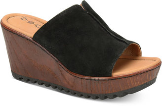 b.o.c. Teah Wedge Sandals $90 thestylecure.com