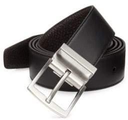 Emporio Armani Tongue Leather Belt