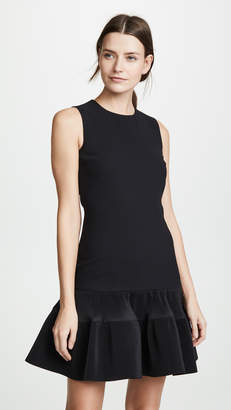 Victoria Victoria Beckham Pleat Hem Shift