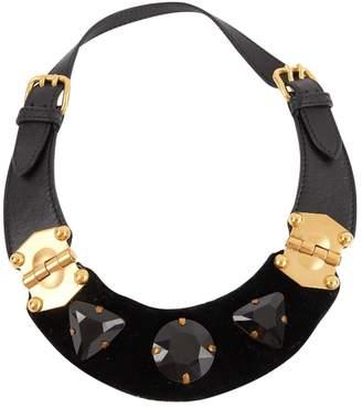 Miu Miu Leather necklace