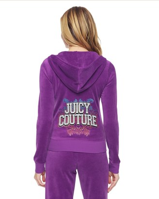 Logo Jc Collegiate Velour Original Jacket $158 thestylecure.com