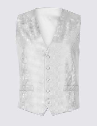 Marks and Spencer Jacquard Waistcoat