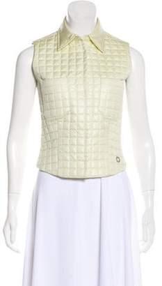 Chanel Quilted Metallic Vest