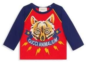 Gucci Baby Boy's Fox Baseball Tee