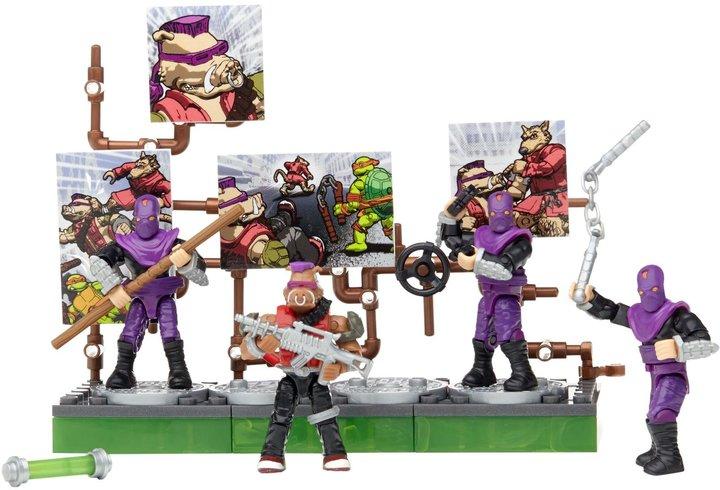Mega Bloks Teenage Mutant Ninja Turtles Collectors Bebop Villain Pack Action Figure