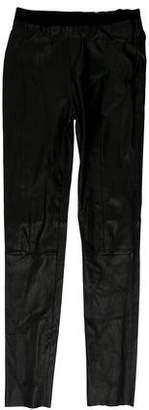 Acne Studios Leather Skinny Pants