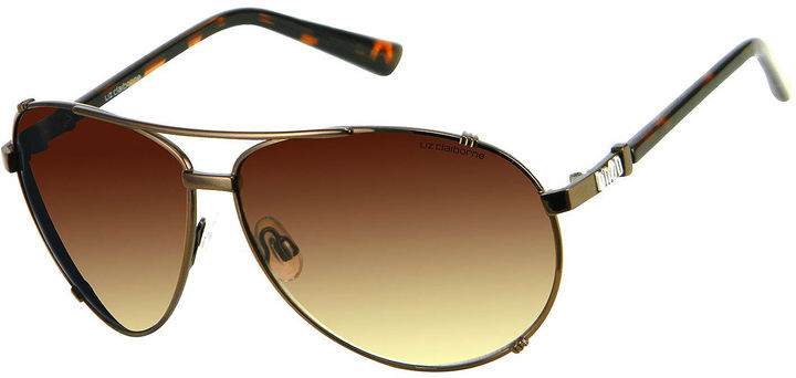 Liz Claiborne Falsetto Aviator Sunglasses