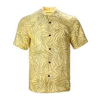 Havana Breeze Men's Relaxed-Fit Linen Shirt XXL