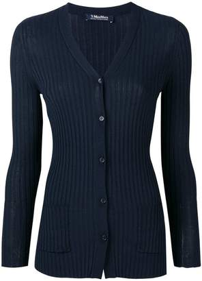 Max Mara 'S ribbed V-neck cardigan