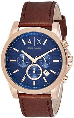 Armani Exchange Men's AX2508 Leather Watch
