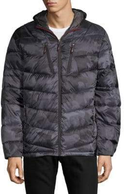 Hawke & Co Camouflage Hooded Jacket