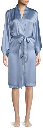 Josie Natori Women's Self-Tie Silk Robe