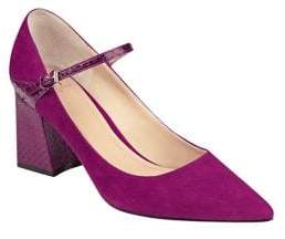 Marc Fisher Zullys Suede Pointed Toe Pumps
