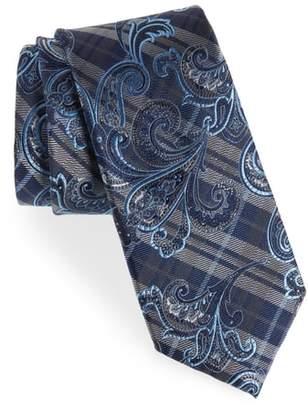 Nordstrom Riscal Plaid Silk Tie