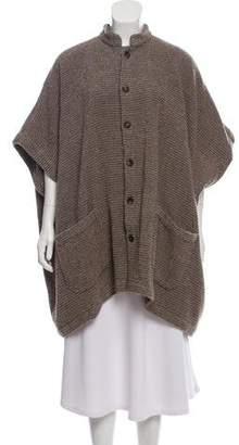 eskandar Sleeveless Oversize Sweater