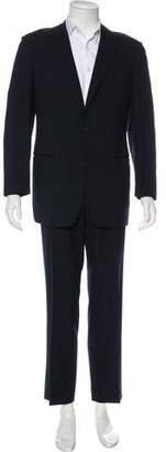 Versace Micro Dot Two-Piece Suit