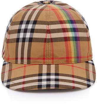 Burberry Plaid Baseball Hat