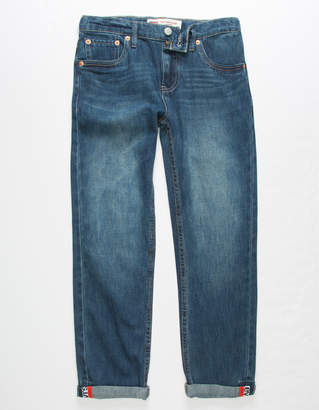Levi's 502 Regular Taper Dark Wash Boys Jeans