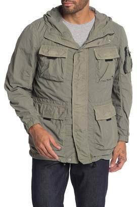 Belstaff Pallington Flap Pocket Hooded Jacket